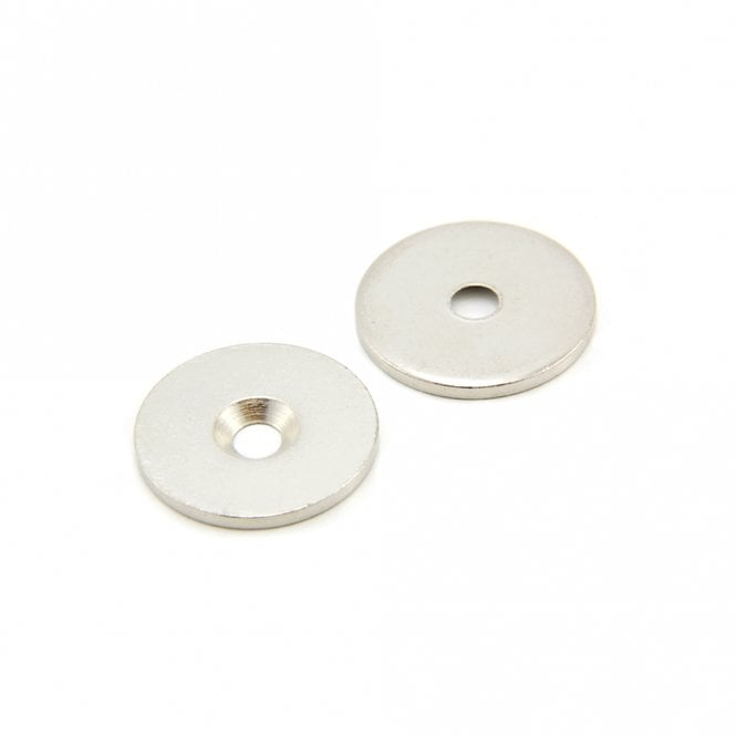 25mm dia x 2mm thick x 4mm c/sink Steel Disc