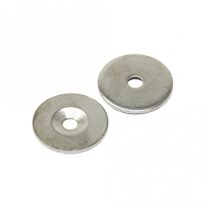 27mm dia x 2mm thick x 5.2mm c/sink Steel Disc