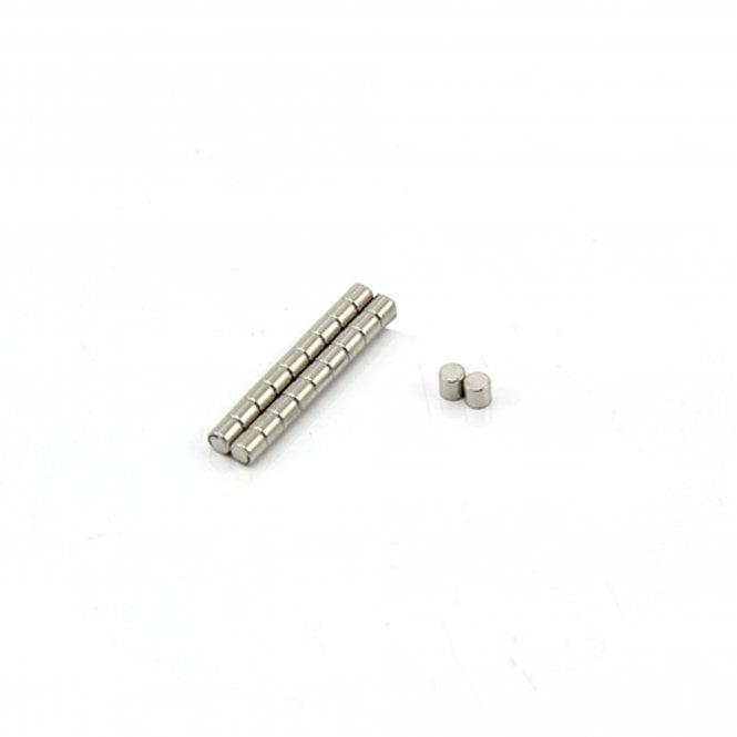 2mm dia x 2mm thick N42SH Neodymium Magnet - 0.15kg Pull