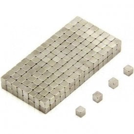 3 x 3 x 3mm thick N35 Neodymium Magnet - 0.28kg Pull (Pack of 10000)
