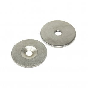 34mm dia x 2mm thick x 6.2mm c/sink Steel Disc