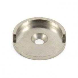 35mm dia Mild Steel Keeper Cup For Pot & Countersunk Magnet - Half Lip (Pack of 10)