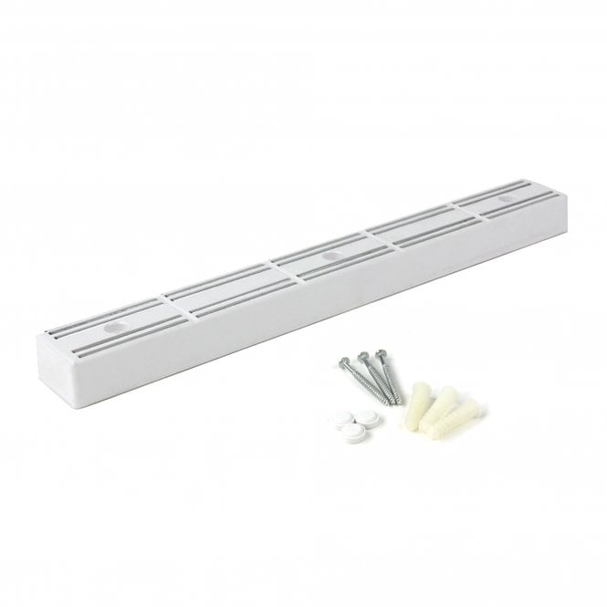 360 x 40 x 25mm thick White Magnetic Tool/Knife Rack