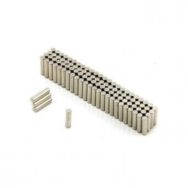 3mm dia x 12mm thick Diametrically Magnetised N42 Neodymium Magnet (Pack of 100)