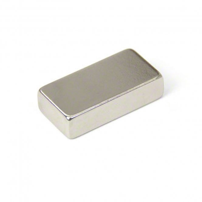 40 x 20 x 10mm thick N42 Neodymium Magnet - 21.7kg Pull