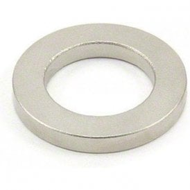 40mm O.D. x 25mm I.D. x 5mm thick Samarium Cobalt Ring Magnet - 11.4kg Pull (Pack of 10)
