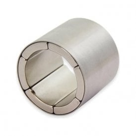 40mm O.D. x 30mm I.D. x 35mm long N42 Neodymium Magnet Assembly - Radially Magnetised