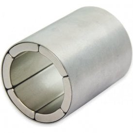 40mm O.D. x 30mm I.D. x 50mm long N42 Neodymium Magnet Assembly - Radially Magnetised