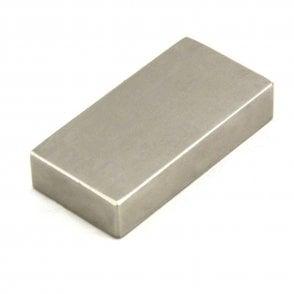 50 x 25 x 10mm thick N42 Neodymium Magnet - 32.2kg Pull