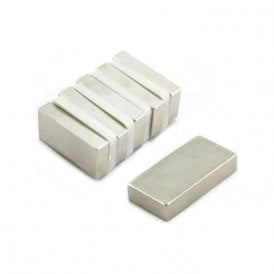 50 x 25 x 10mm thick N42 Neodymium Magnet - 32.2kg Pull (Pack of 120)