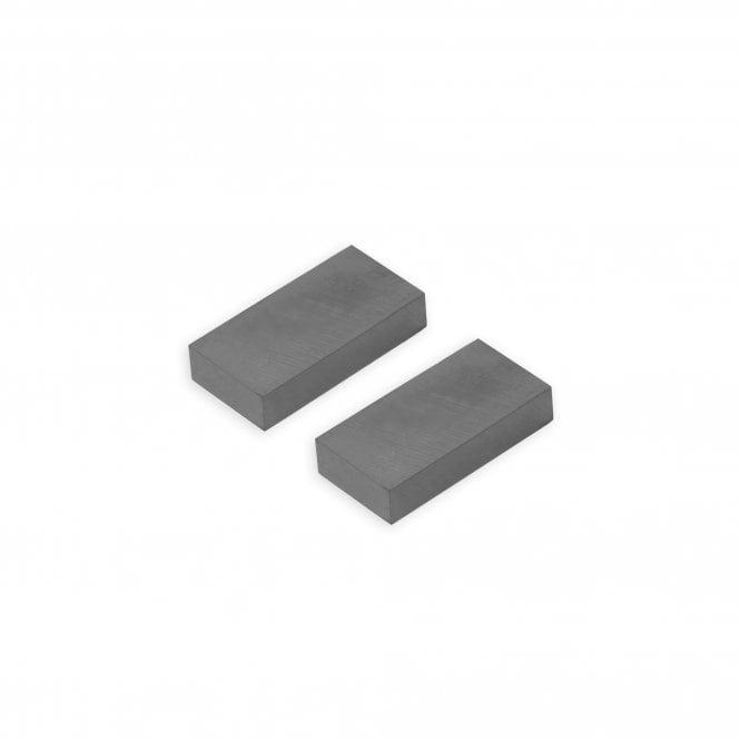 50 x 25 x 10mm thick Y30BH Ferrite Magnet - 3.6kg Pull