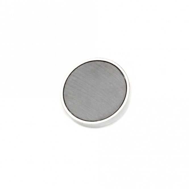 50mm dia x 10mm thick Ferrite Pot Magnet with M5 Internal Thread Pack of 4