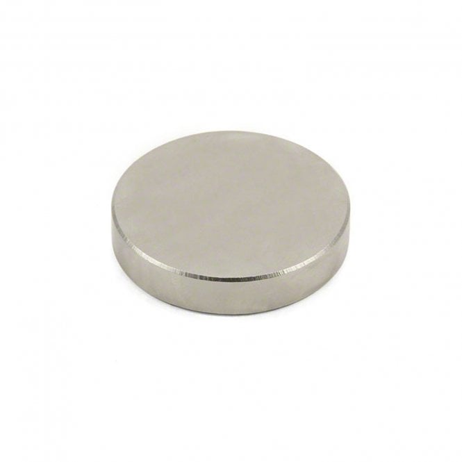 "50mm dia x 10mm thick N52 Neodymium ""Strongest Grade"" Magnet - 45kg Pull"