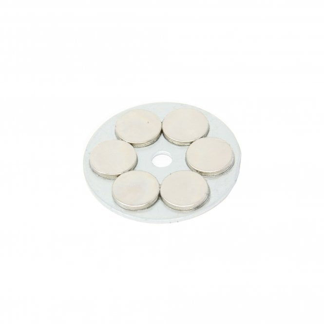 50mm dia x 3.5mm thick x 6mm hole Slimline Limpet Magnet - 30kg Pull