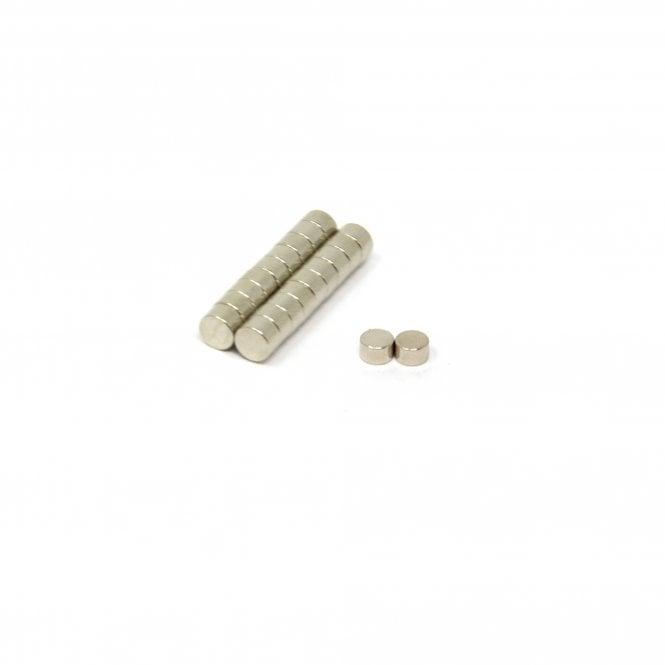 5mm dia x 3mm thick N45 Neodymium Magnet - 0.8kg Pull