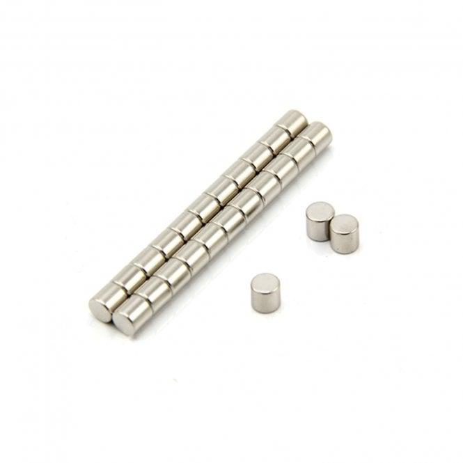 5mm dia x 5mm thick N35 Neodymium Magnet - 0.76kg Pull