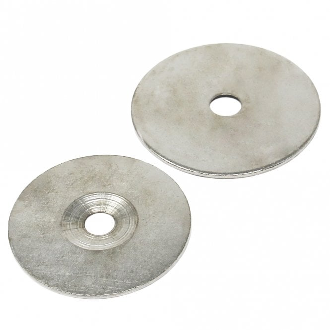 62mm dia x 2mm thick x 10.2mm c/sink Steel Disc