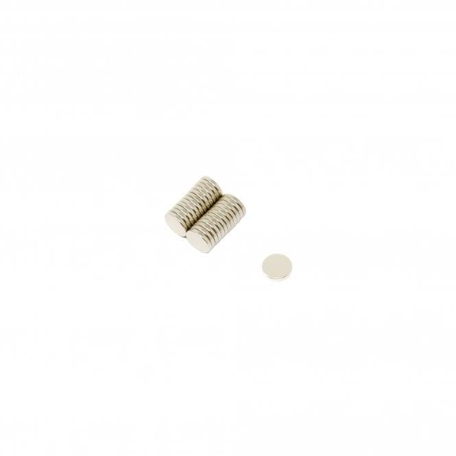 6mm dia x 1mm thick N35 Neodymium Magnet - 0.33kg Pull