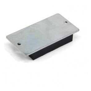 75 x 39 x 12mm thick Rubber Coated Mag Pad - 4kg Pull