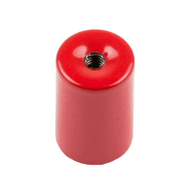 9.5mm dia x 15mm thick Alnico 5 Deep Pot Magnet c/w M3 threaded hole - 1kg Pull