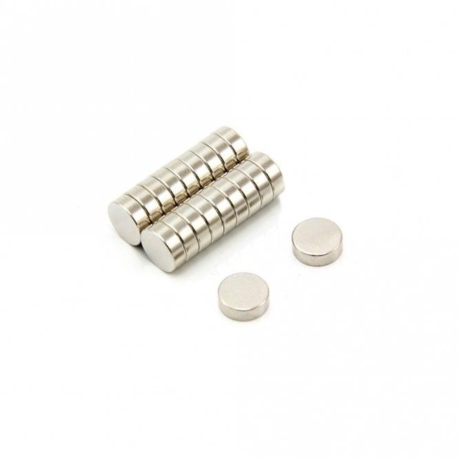 9mm dia x 3mm thick Samarium Cobalt Magnet - 1kg Pull