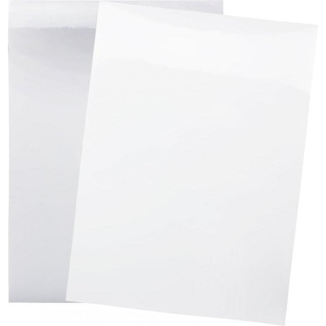 A4 Flexible Dry Wipe Sheet - Self Adhesive