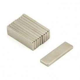 Adhesive 20 x 6 x 1.5mm thick N42 Neodymium Magnet - 1.6kg Pull (North) (Pack of 200)