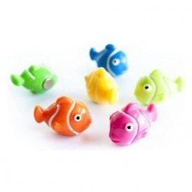 Assorted Animal Style Office Magnets - Clown Fish (Nemo) (1 set of 6)