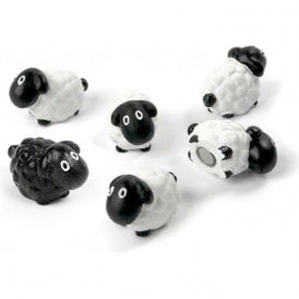 Assorted Animal Style Office Magnets - Sheep