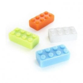 Assorted Popular Shape Office Magnets - Big Brick (1 set of 4)