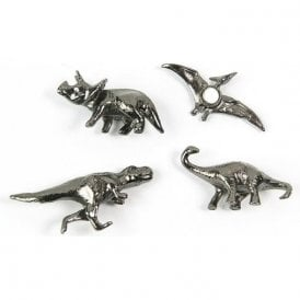 Assorted Popular Shape Office Magnets - Dinosaurs ( 1 set of 4 )
