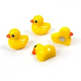 Assorted Popular Shape Office Magnets - Ducky (1 set of 4)