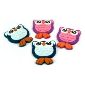 Assorted Rubber Expression Magnets - Owls