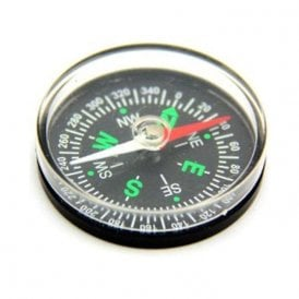 Basic Pocket Compass - Science & Education (40mm dia x 9mm thick) (Pack of 40)