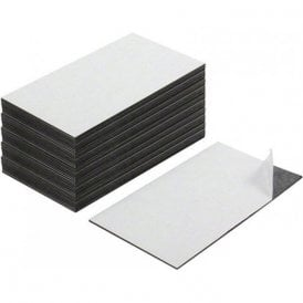 Business Card Magnet - Adhesive front & Magnetic on the back ( 89 x 51 x 0.8mm ) ( Pack of 100 )