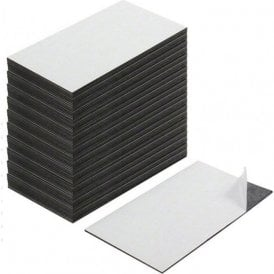 Business Card Magnet - Adhesive front & Magnetic on the back ( 89 x 51 x 0.8mm ) ( Pack of 500 )