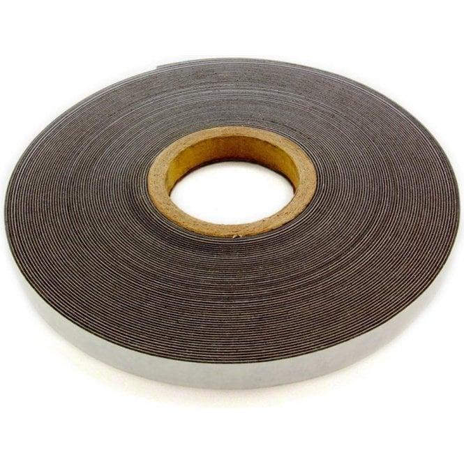 FerroFlex® 20mm Wide Ferrous Strip - 3M™ Self-Adhesive / Gloss White
