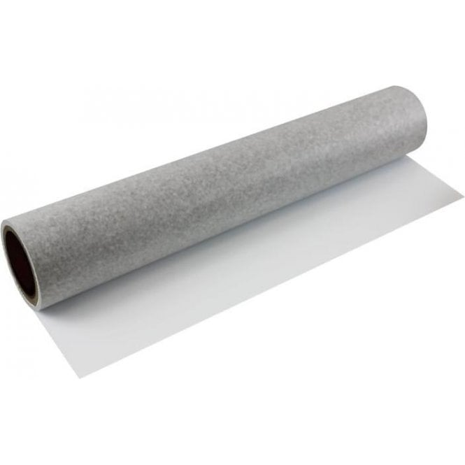FerroFlex® 600mm Wide Flexible Ferrous Sheet - Non-Woven Wallpaper / Matt White