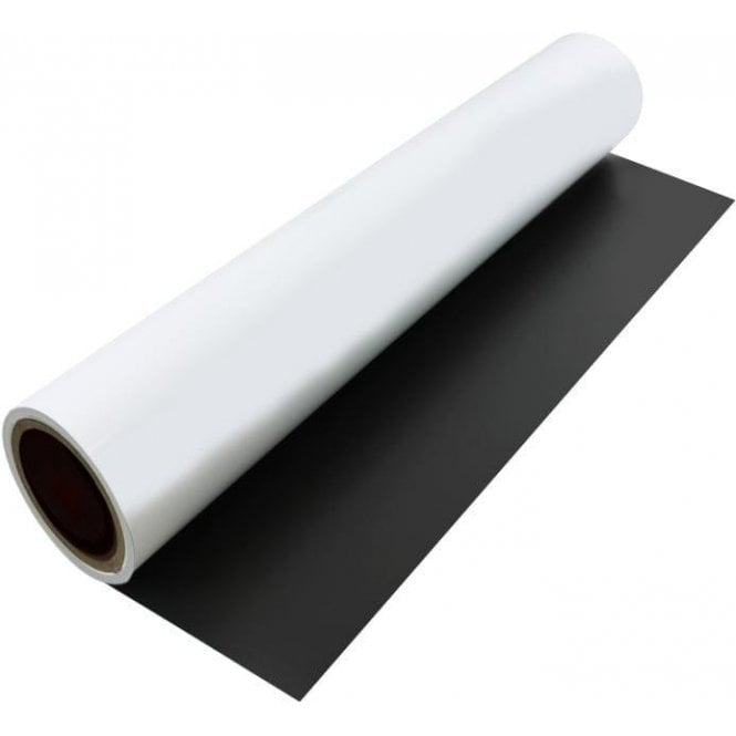 FerroFlex® 600mm Wide Flexible Ferrous Sheet - Self-Adhesive / Dry-Wipe