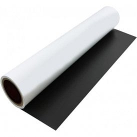 FerroFlex® 600mm Wide Flexible Ferrous Sheet - Self Adhesive / Dry Wipe
