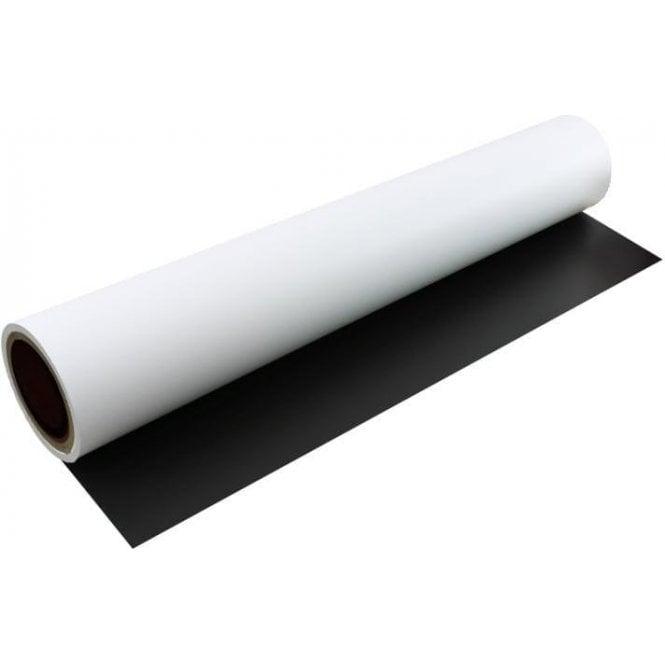 FerroFlex® 600mm Wide Flexible Ferrous Sheet - Self-Adhesive / Matt White