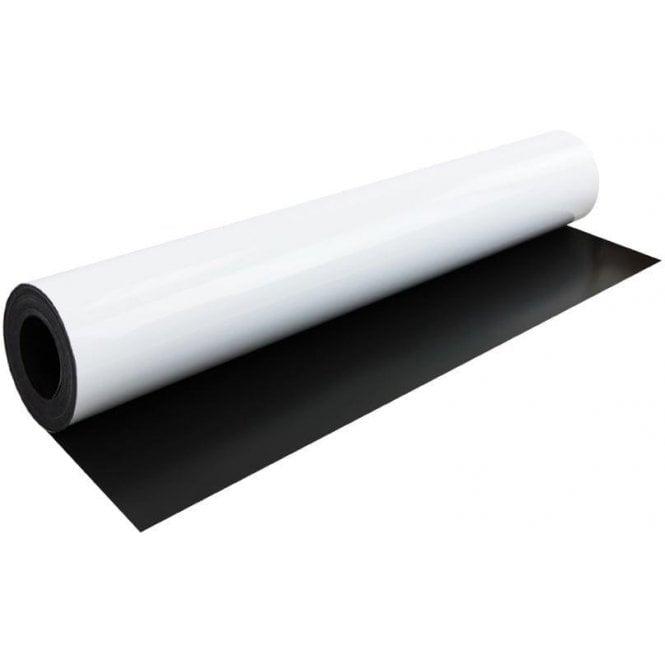FerroFlex® 620mm Wide Flexible Ferrous Sheet - Gloss White / Dry-Wipe