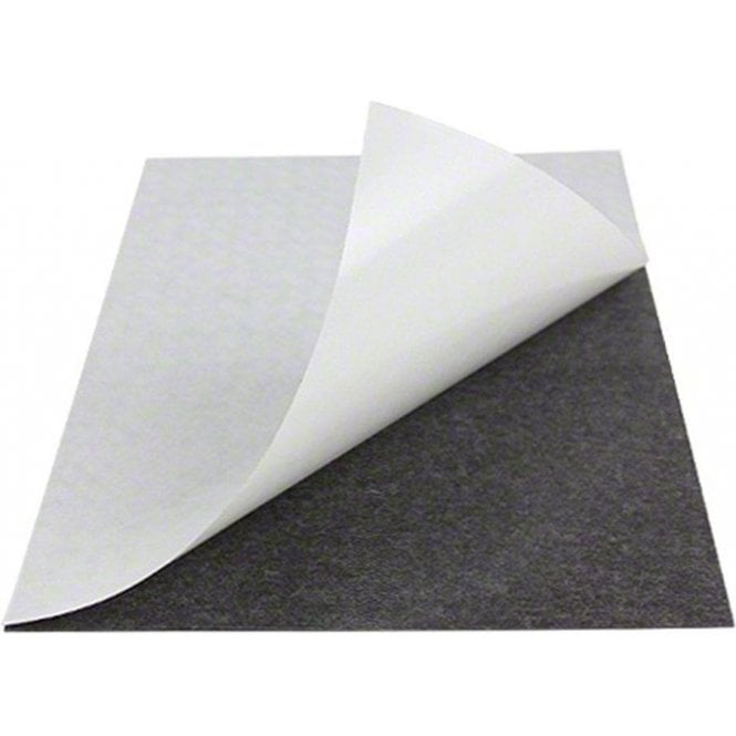 Flexible A4 Magnetic Sheet with 3M Self Adhesive (297 x 210 x 0.85mm)