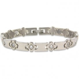 Ladies Rare Earth Magnetic Bracelet with Fold-over Clasp – Delphini