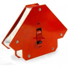 Large Switchable Multi-angle Welding Magnet (45° x 90° x 135°) - 24kg / 55lbs (Pack of 1)