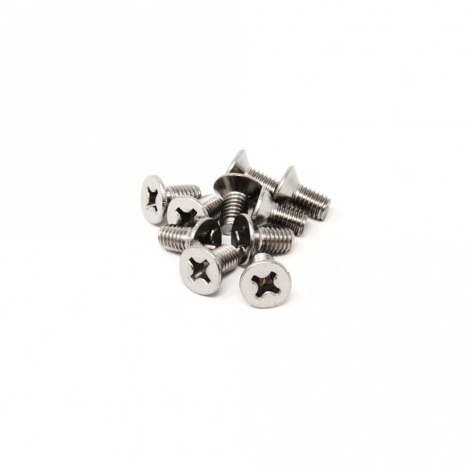 M6 x 12mm long Stainless Steel Screw
