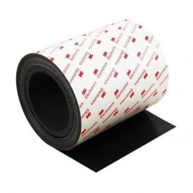 MagFlex® 150mm Wide Flexible Magnetic Sheet - 3M™ Self Adhesive (1 Metre Length)