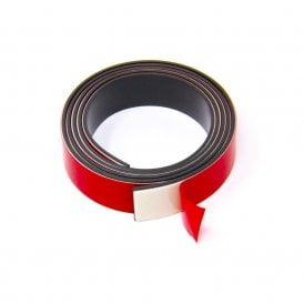 MagFlex® 19mm Wide Flexible Magnetic Tape - Foam Self Adhesive - Self Mating (1 Metre Length)