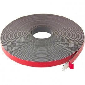 MagFlex® 19mm Wide Flexible Magnetic Tape - Foam Self Adhesive - Self Mating (5 Metre Length)