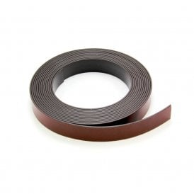 MagFlex® 19mm Wide Flexible Magnetic Tape - Premium Self Adhesive - Self Mating (5x 30 Metre Lengths)